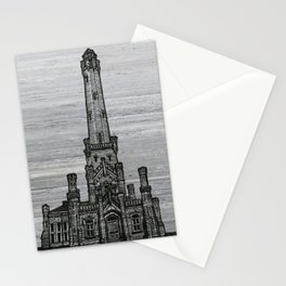 Triptych 2 - Water Tower Stationery Cards