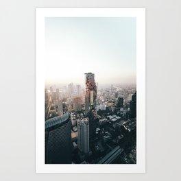 Bangkok 97 Art Print