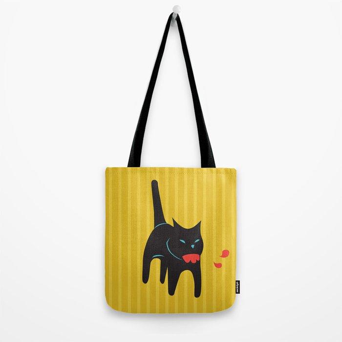 Zombie Cat Hank Tote Bag