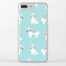 Havanese dog breed gifts for dog lover pure breed must haves Clear iPhone Case