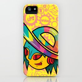 The Dopest Robot Logo iPhone Case