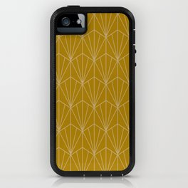 Art Deco Vector in Gold iPhone Case