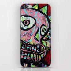 King Skull iPhone & iPod Skin