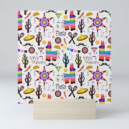 Fiesta Mexicana Mini Art Print