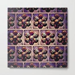 Flower pattern B1 Metal Print