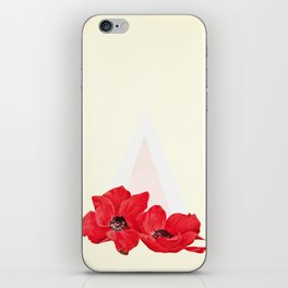 Floral Triangle iPhone Skin