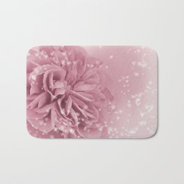 Light Pink Rose with hearts #1 #floral #art #society6 Bath Mat