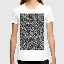 Two Tone Wobble Tiles Pattern T-shirt