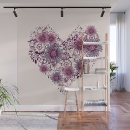 Love Grows Wall Mural