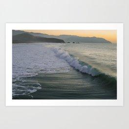 CA Coast. Art Print