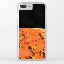 Message Received Clear iPhone Case
