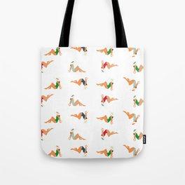 Whitehaven Beach girls pattern Tote Bag