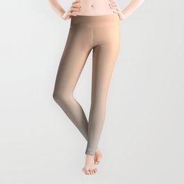 WEST COAST - Minimal Plain Soft Mood Color Blend Prints Leggings