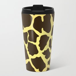 Giraffe Skin Print Travel Mug