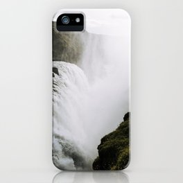 Gullfoss waterfall in Iceland - Landscape Photography iPhone Case