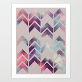 Chevron Dream Art Print