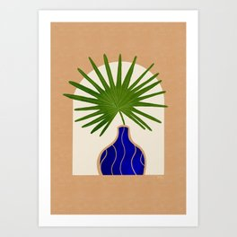 Fan Palm 1 Art Print