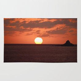 Just a great sunset Rug