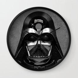 Vader Vinyl Wall Clock