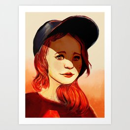 Little League Art Print