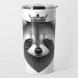 Queen raccoon Travel Mug