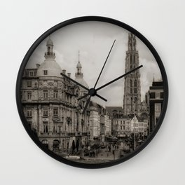 Watching the Cathedral Wall Clock