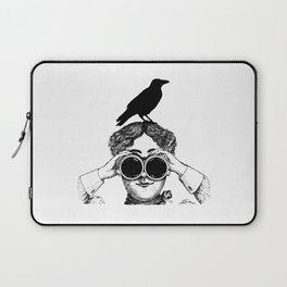Where's that bird?! - humor Laptop Sleeve