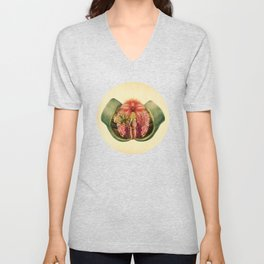 Lady Garden Botanical Unisex V-Neck