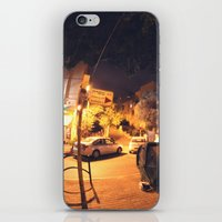 israel iPhone & iPod Skins featuring Massada St. - Israel by Camille Gilbert