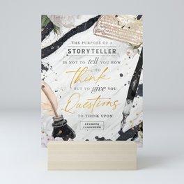 Storyteller Mini Art Print