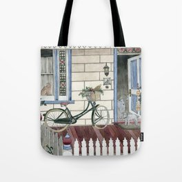Staying at home Tote Bag