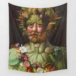 Giuseppe Arcimboldo  -  Rudolf Ii Of Habsburg As Vertumnus Wall Tapestry