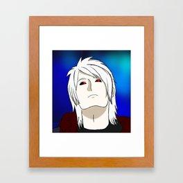 Bright White Framed Art Print