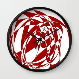 Abstract doodle Wall Clock