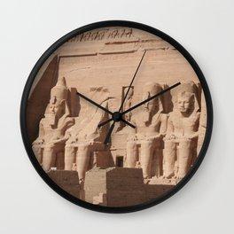 Abu Simbel 001 Wall Clock