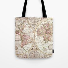 An Accurate Map Tote Bag