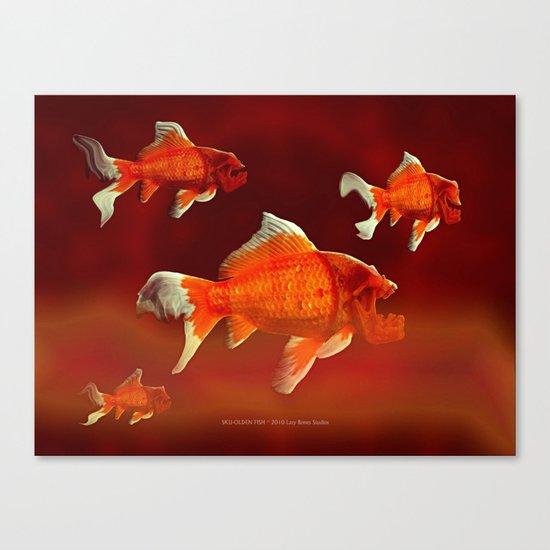SKU-OLDEN FISH 037 Canvas Print