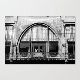 Art Nouveau in Antwerp Canvas Print