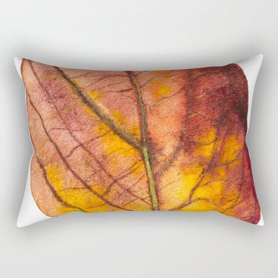 Autumn Leaf 03 Rectangular Pillow