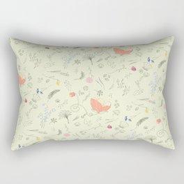Woodland Wonders (Cilantro) Rectangular Pillow
