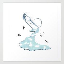 Skies Art Print