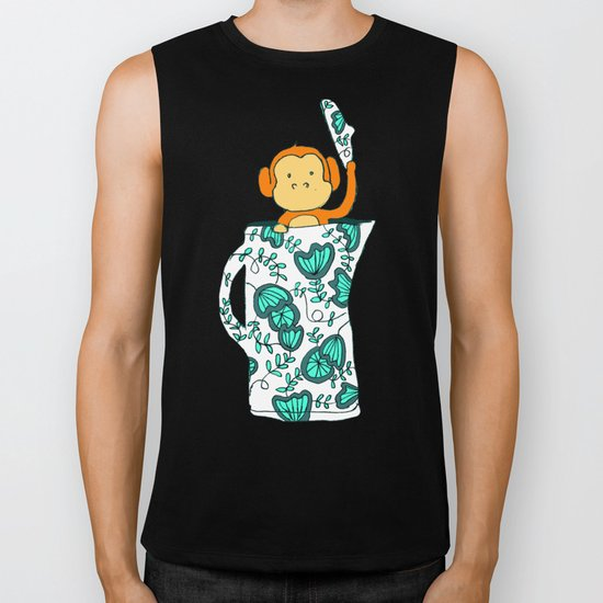 Dinnerware sets - Monkey in a jug Biker Tank