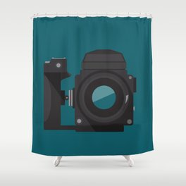Camera Series: ETR Shower Curtain