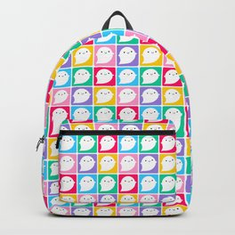 Colourful Little Ghosts Backpack