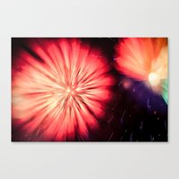 philippines Canvas Prints featuring Fireworks - Philippines 5 by David Johnson