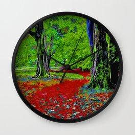 Fantasy Woodland Wall Clock