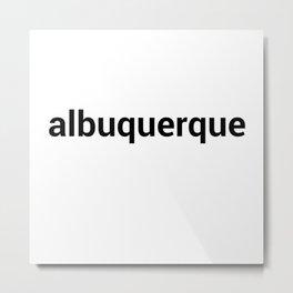 albuquerque Metal Print