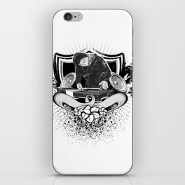 Dj Beach iPhone Skin