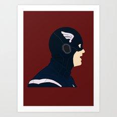Captain Art Print