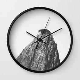 Les Montagnes I Wall Clock